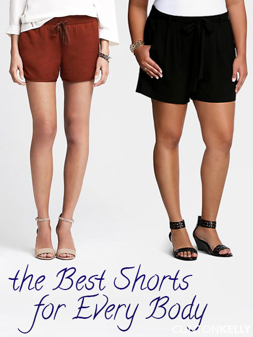 best shorts for every body