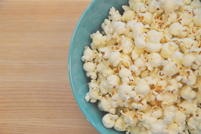 Homemade Popcorn Clinton Kelly
