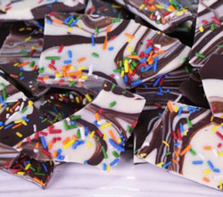 Clinton Kelly Cake Batter Bark