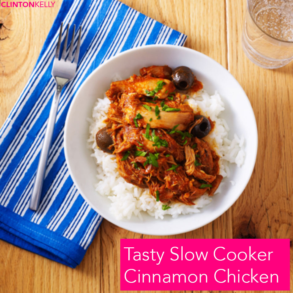 Tasty Slow Cooker Cinnamon Chicken