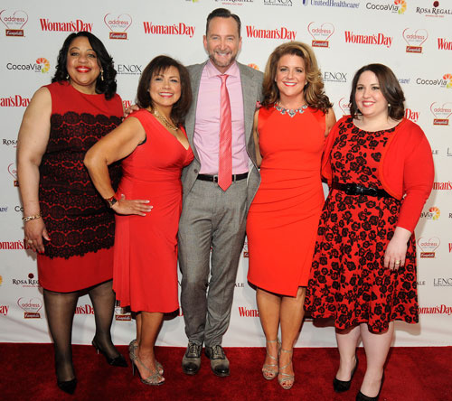 Clinton Kelly Woman's Day Red Dress Makeovers