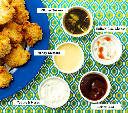 Clinton Kelly Easy Chicken Nuggets and Sauces