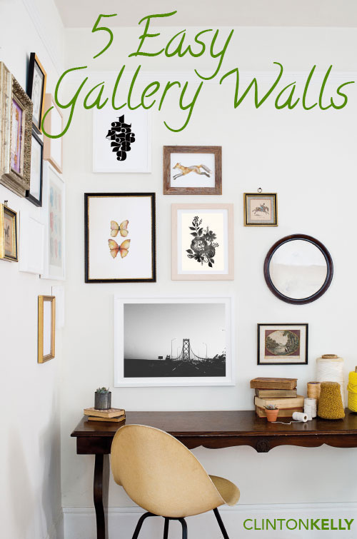 5 Gallery Wall Ideas