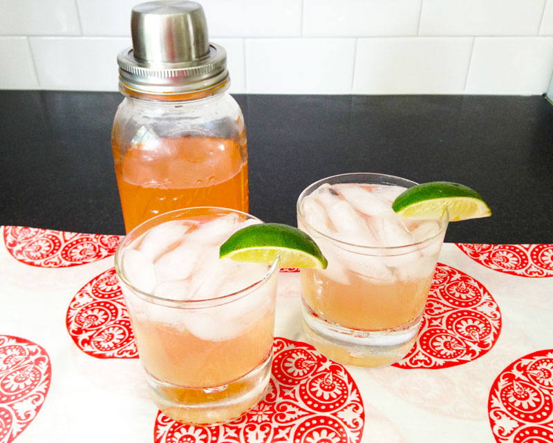 Clinton Kelly Grapefruit Cocktail
