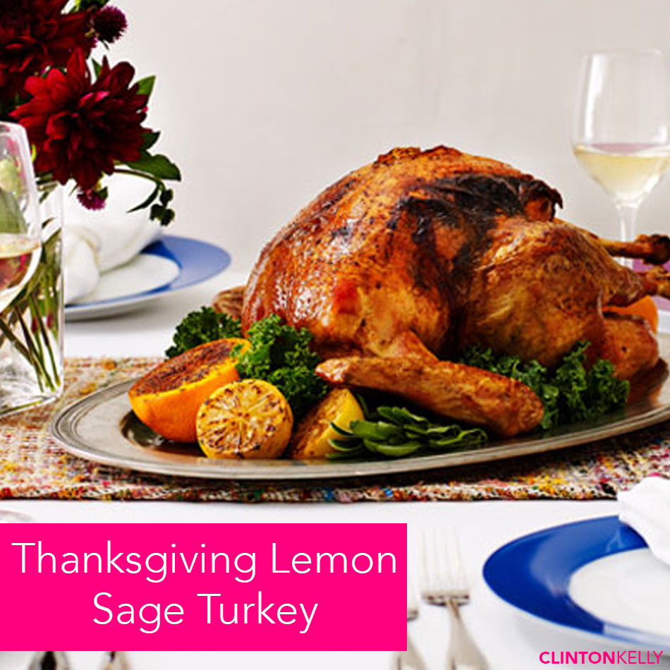 Thanksgiving Lemon Sage Turkey