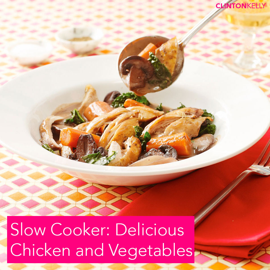 Slow Cooker: Delicious Chicken and Vegetables