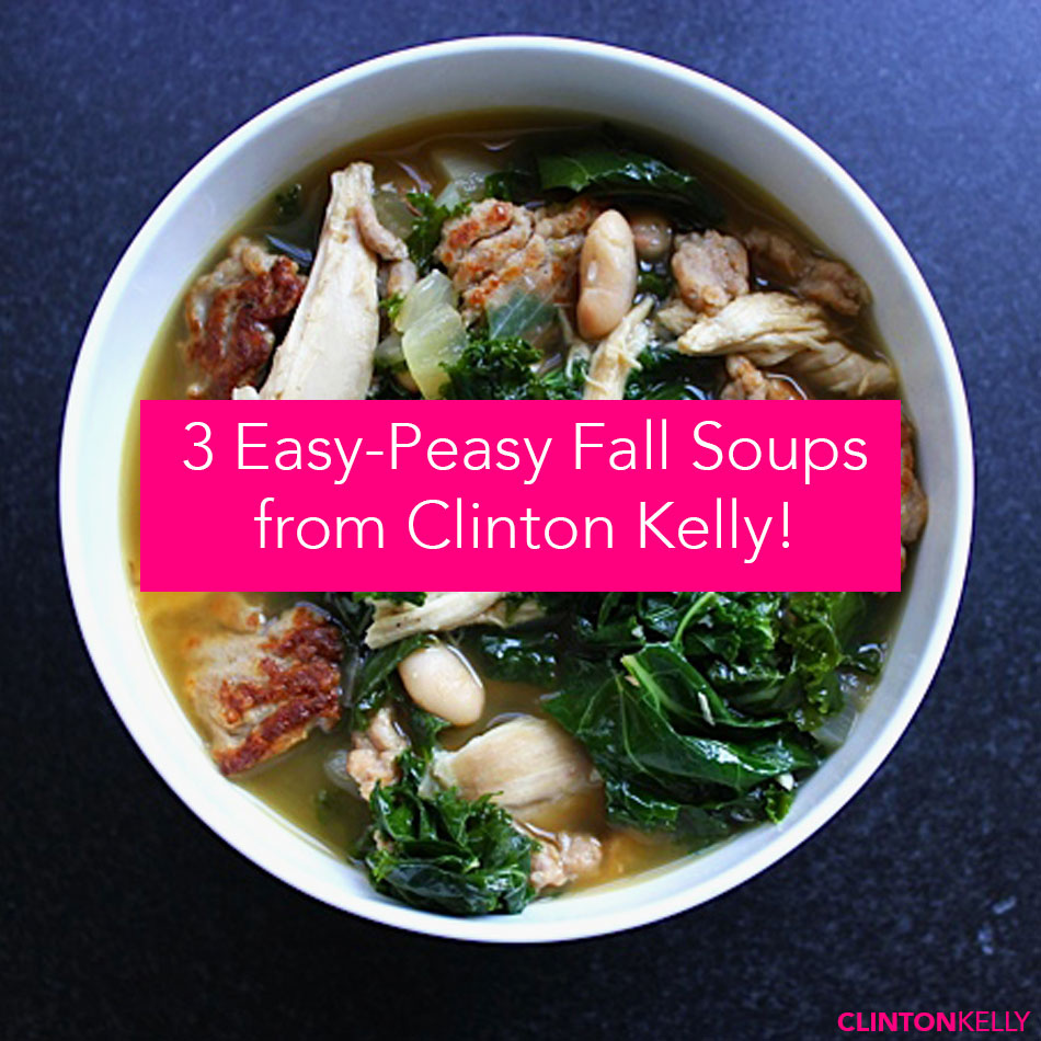 3 Fall Soups to Try!