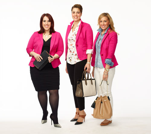 Clinton Kelly 1 Blazer 3 Ways