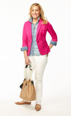 Clinton Kelly Blazer Weekend Chic