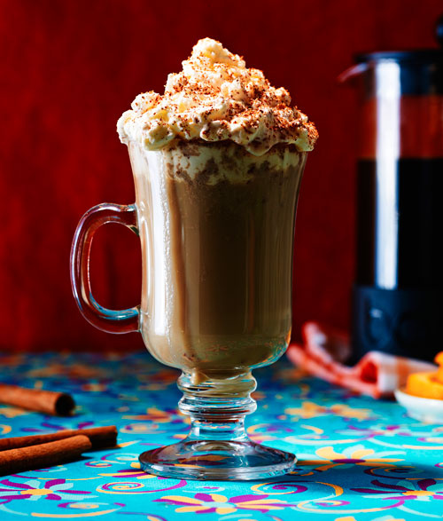Orange Spiked Coffee