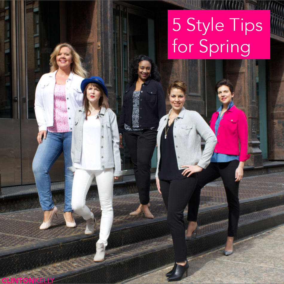 5 Styling Tips for Spring